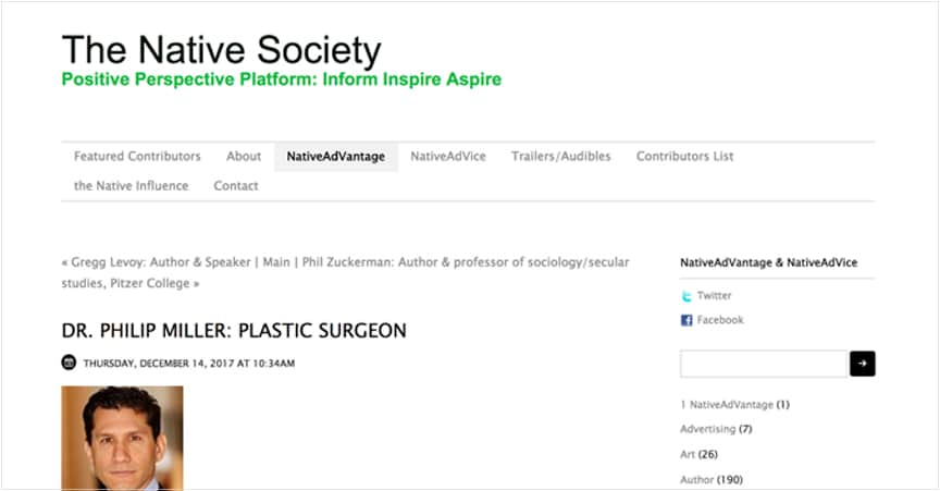 Positive Perspective Platform: Inform Inspire Aspire